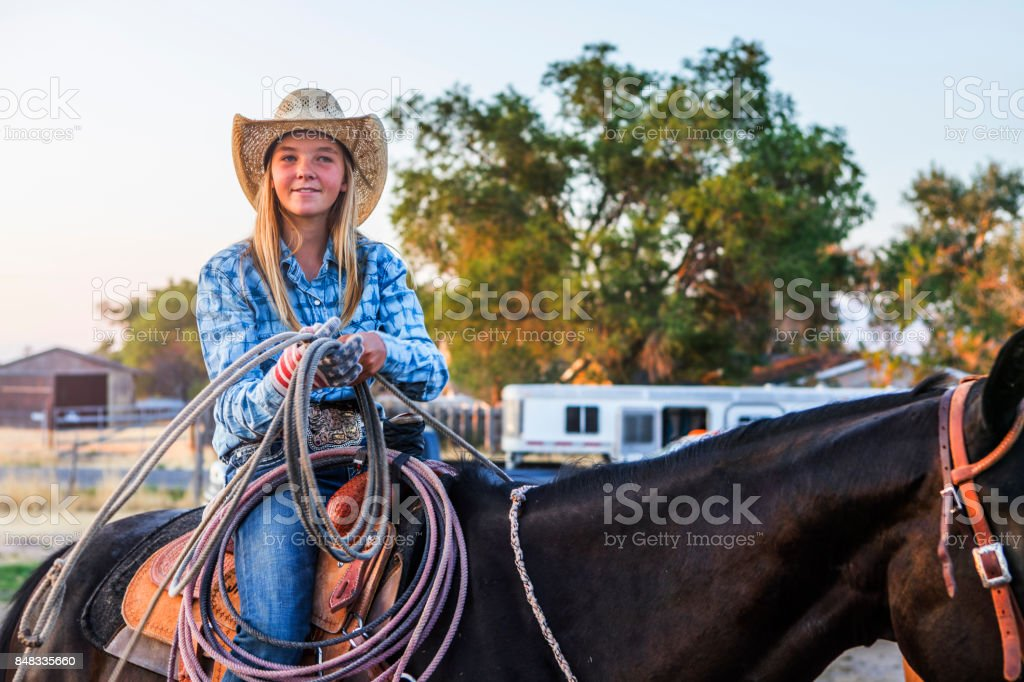 Cowgirl Of the Rodeo