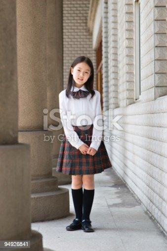 Schoolgirl picture