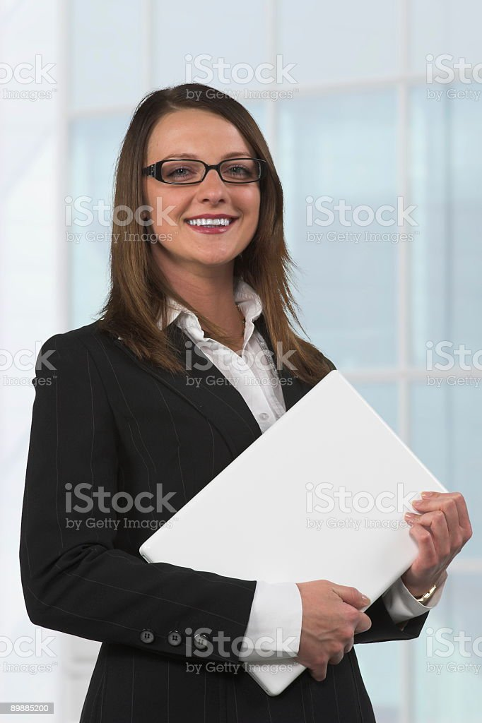 Young secretary royalty-free stock photo