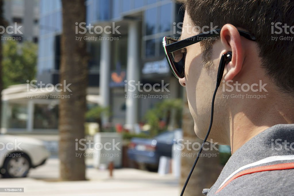 Young Security Staff royalty-free stock photo