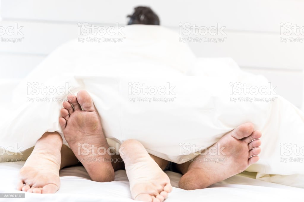 Young Sexy Couples In Bed Stock Photo More Pictures Of Adult Istock