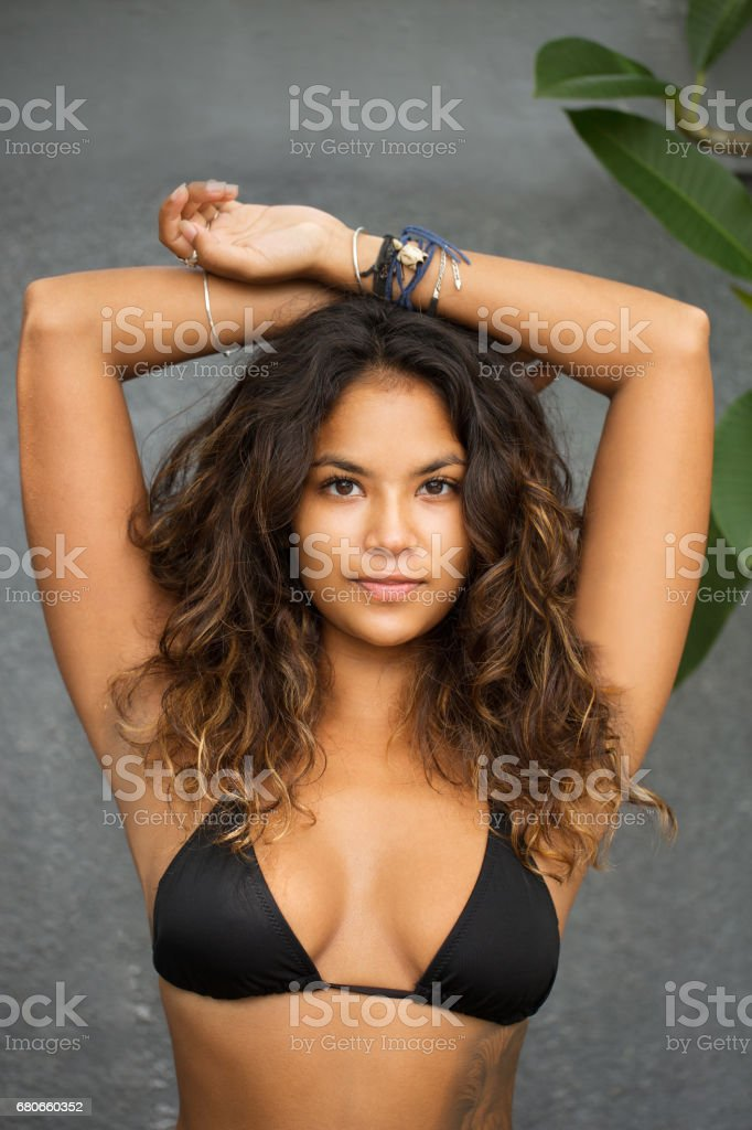 20f54ca3d1 Young Sexy Gorgeous Woman in Bra Raising Arms royalty-free stock photo