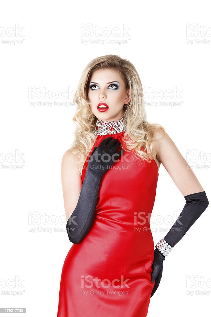 Young sexy woman royalty-free stock photo