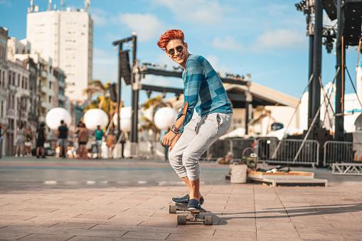 Skateboarding, Skateboard, Men, City, Skate - Sports Footwear