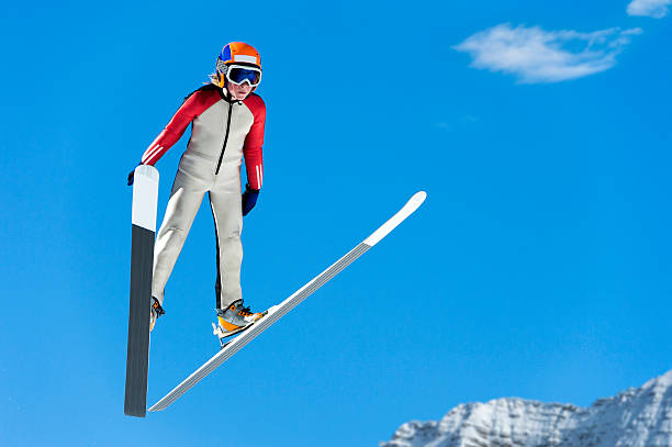 Young ski jumper in midair against the blue sky picture id522520551?b=1&k=6&m=522520551&s=612x612&w=0&h=yv0jwfrbzemj7 wrepsibxkoset cf0i9m76oeztbzs=