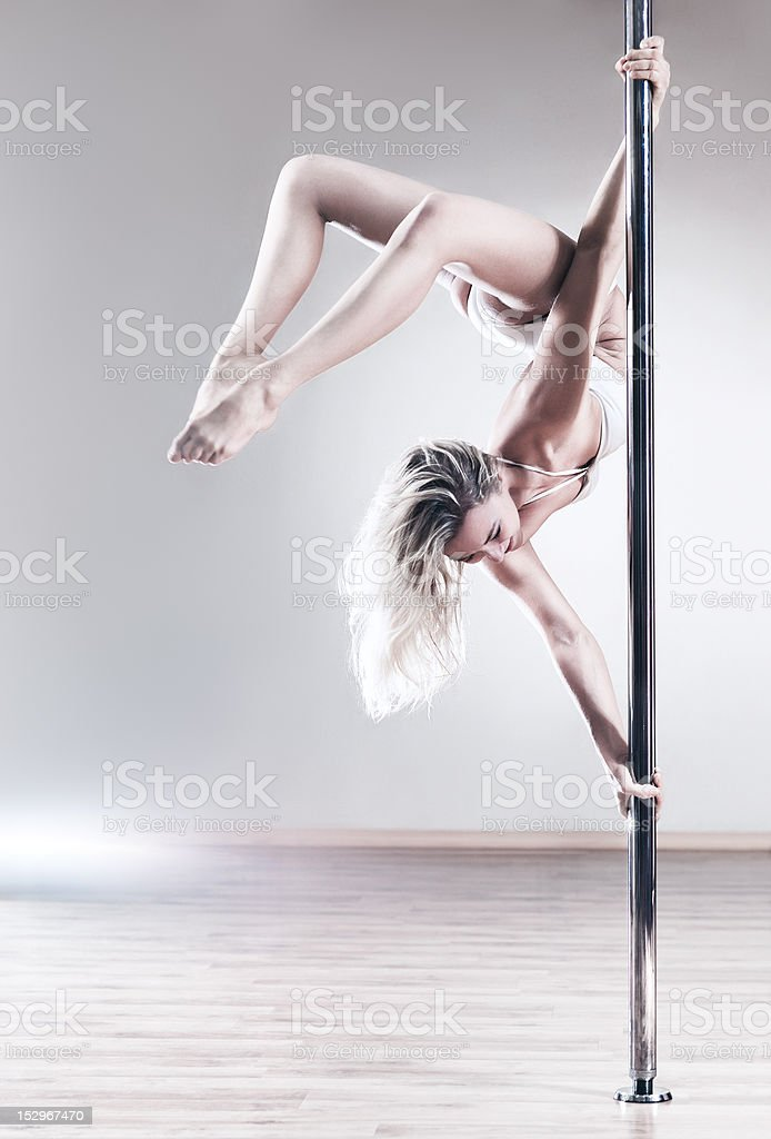 Young slim woman royalty-free stock photo