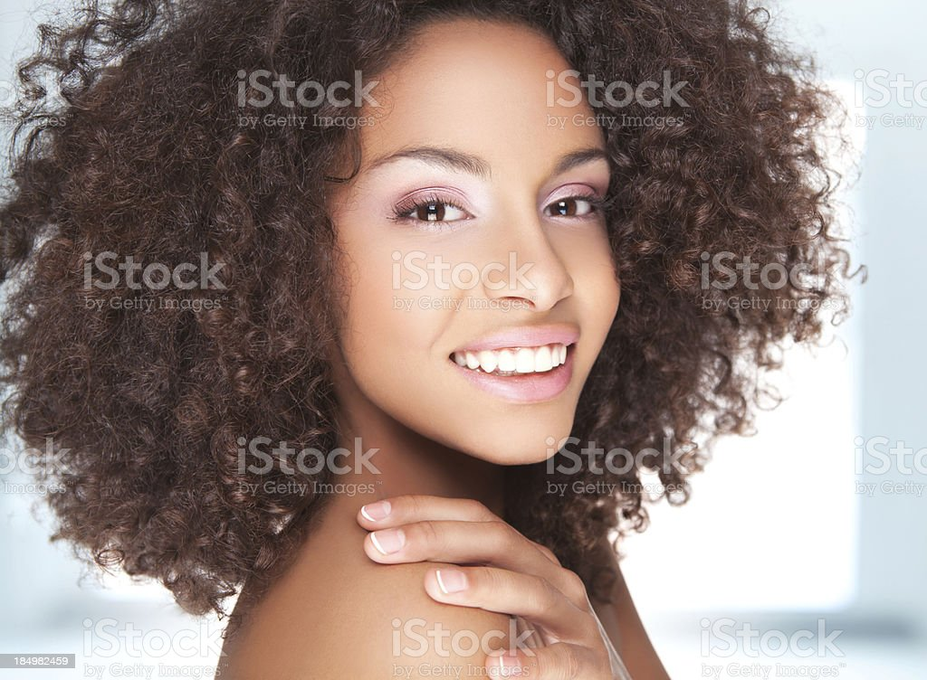 Young smiling beauty. royalty-free stock photo