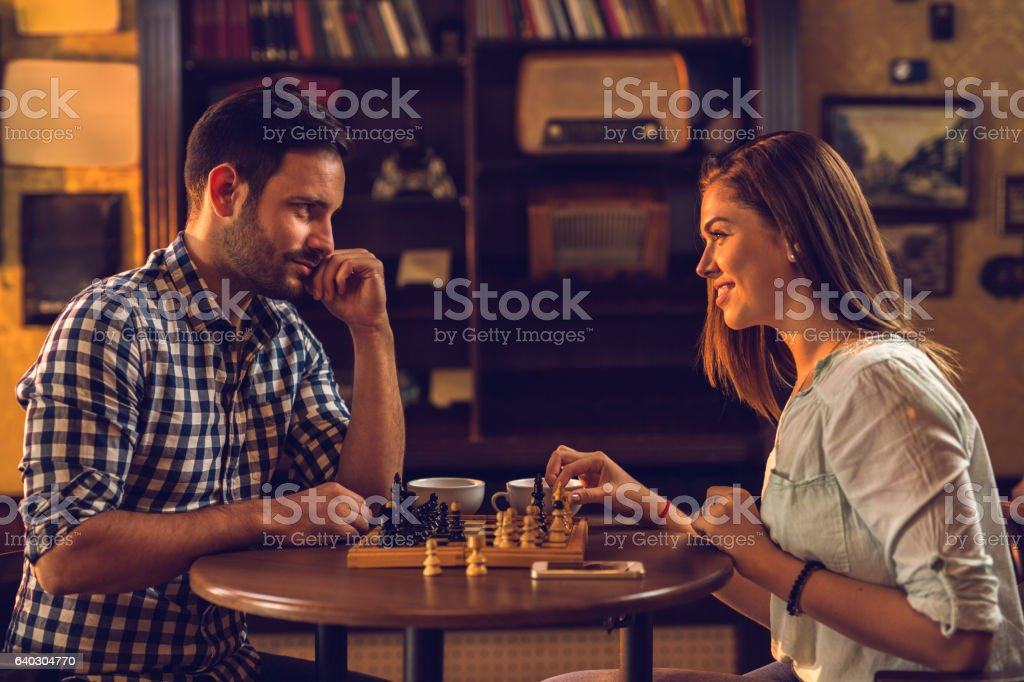 Image result for couple playing chess