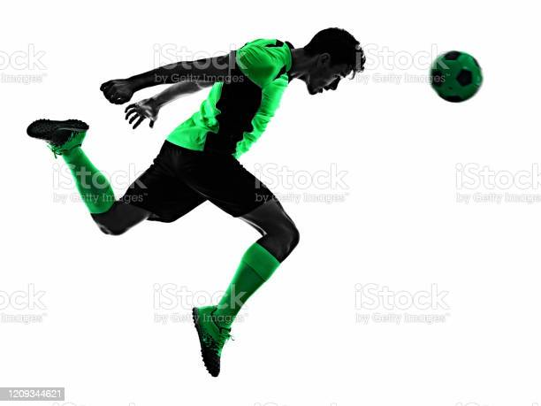 Young soccer player man silhouette shadow isolated white background picture id1209344621?b=1&k=6&m=1209344621&s=612x612&h=i797nn78q0egl7ihfmkgibvivtxtaoauh6twrblqgbs=