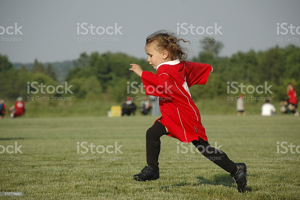 Young Soccer Player stock photo