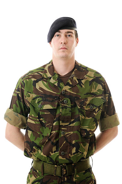 young soldier - uk military stock photos and pictures