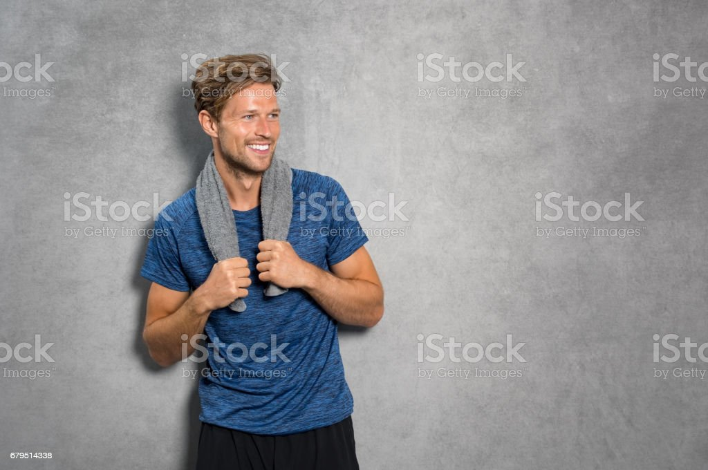Young sporty man royalty-free stock photo