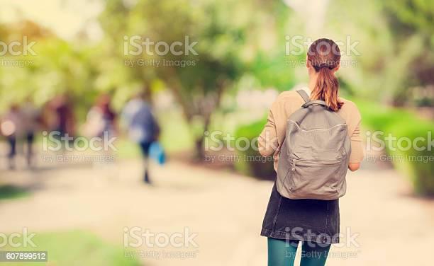 Young student girl in campus picture id607899512?b=1&k=6&m=607899512&s=612x612&h=3n2evsg0rfjper8zsor7yy7kycfnuzkjxzaedyurjf4=