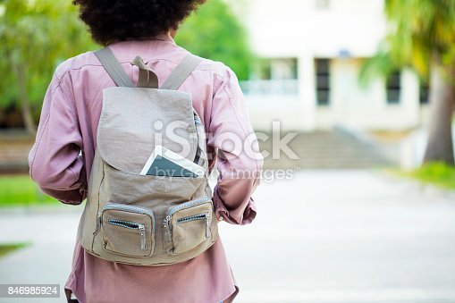 istock Young student in campus 846985924