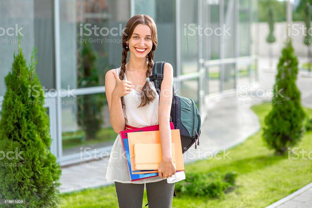 Jovem estudante ou colegial - foto de acervo