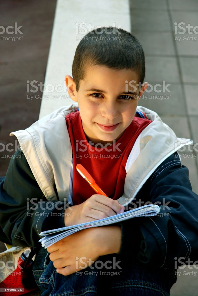 Young student. royalty-free stock photo