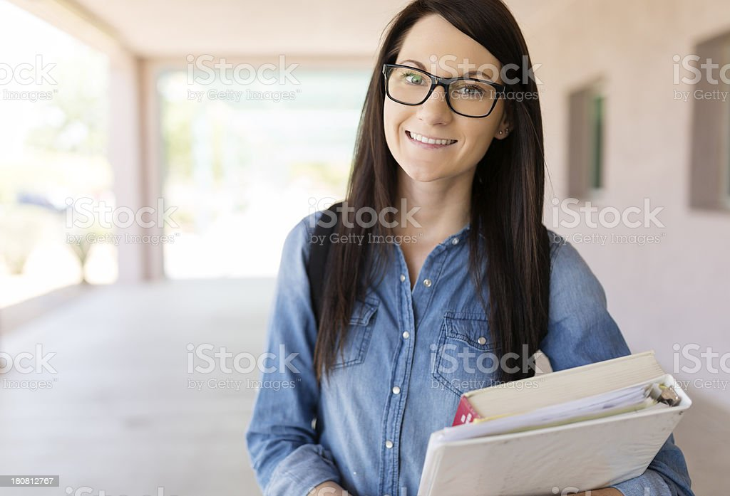 Young student stock photo
