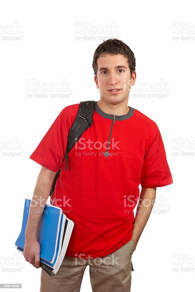 Joven Estudiante foto de stock libre de derechos