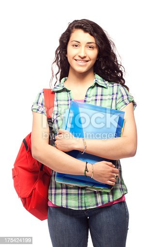 istock Young student woman 175424199