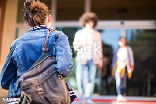 istock Young students on campus 846982640
