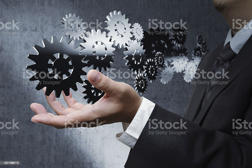 Young stylish businessman royalty-free stock photo