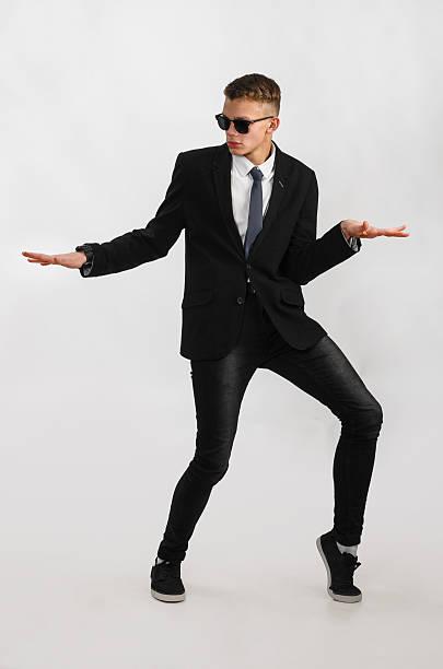 若いスタイリッシュなビジネスマン ストックフォト
