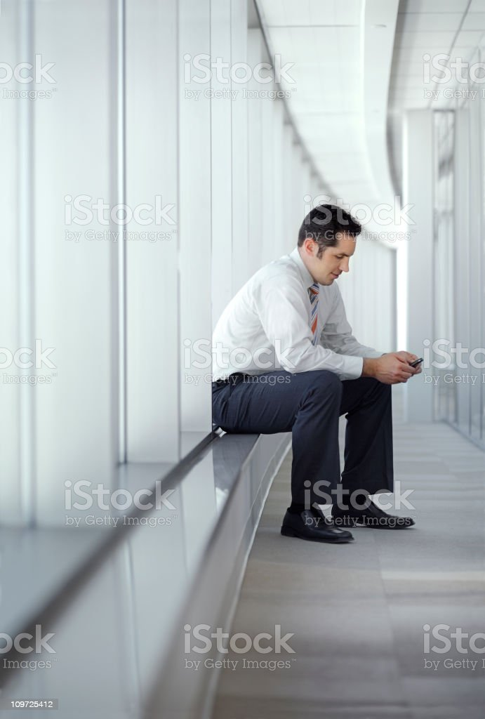 young successful CEO royalty-free stock photo