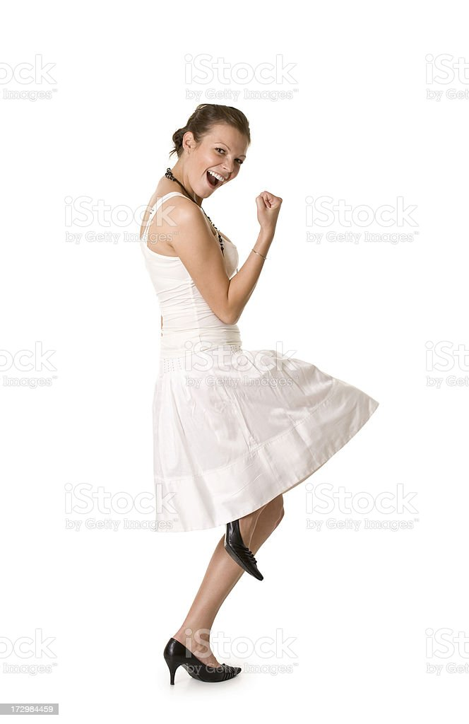 young successful woman royalty-free stock photo