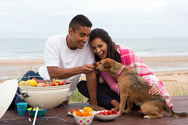 Young Summer Couple stock photo