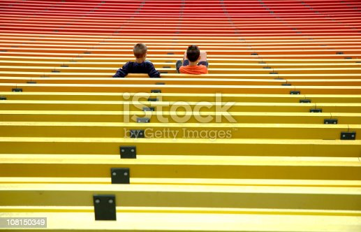 istock Young supporters 108150349