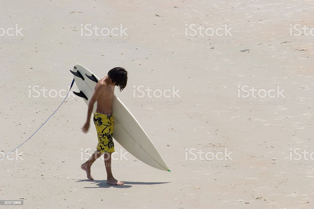 Young Surfer royalty-free stock photo