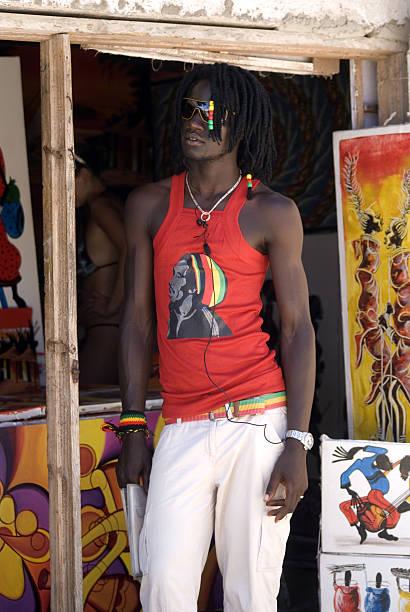 Junger Mann, der Swahili Kiwengwa, Sansibar, Tansania – Foto