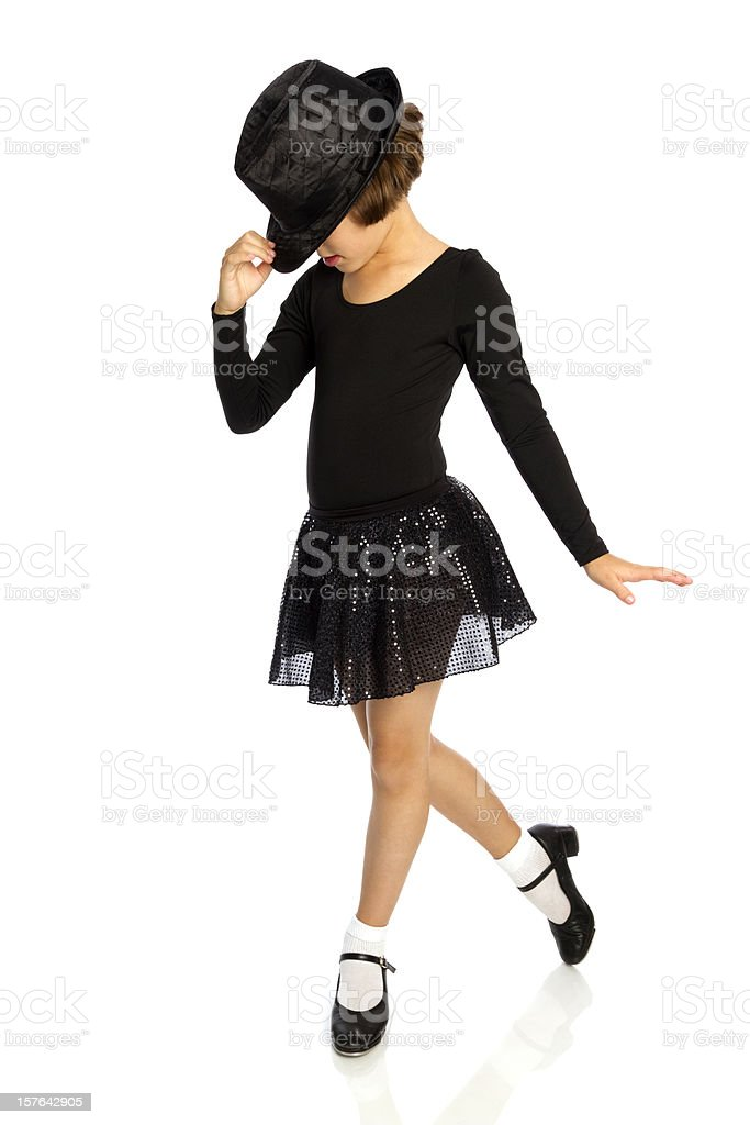 Young Tap Dancer stock photo
