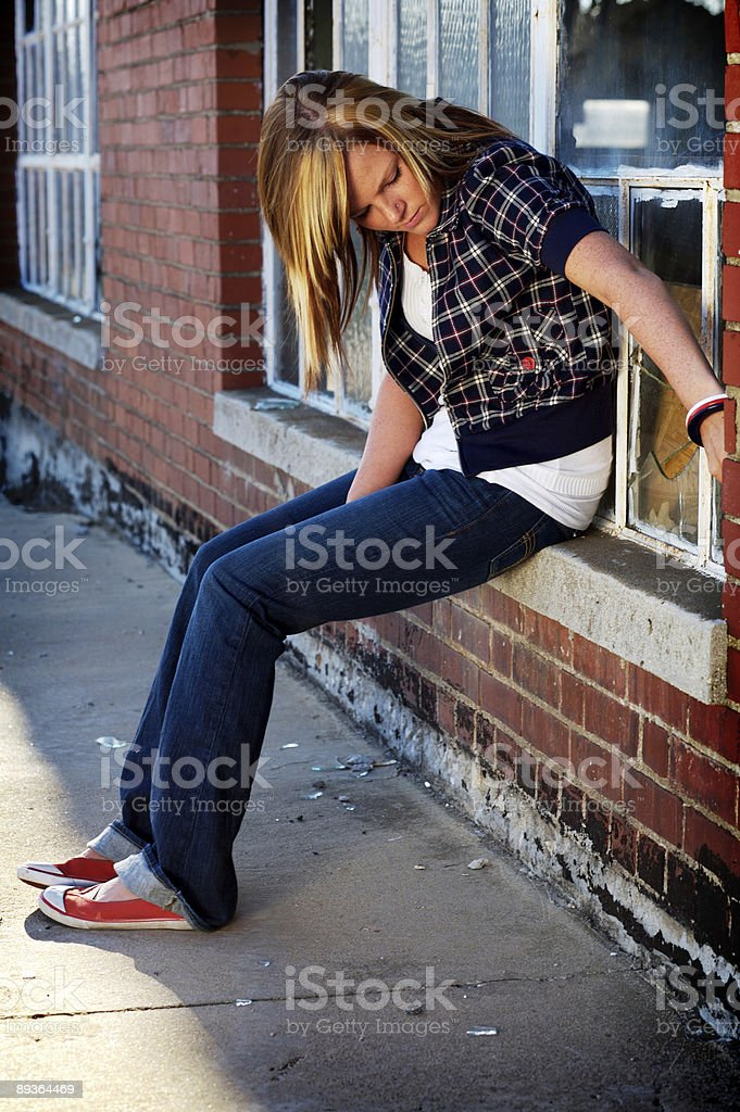 young teen female portrait royalty-free stock photo