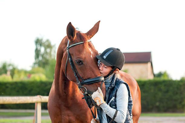 Young teenage girl equestrian kissing her chestnut horse picture id488313334?b=1&k=6&m=488313334&s=612x612&w=0&h=edno 7d3i29mhhetxpu xajfjdlae9ie qbemrlisjg=