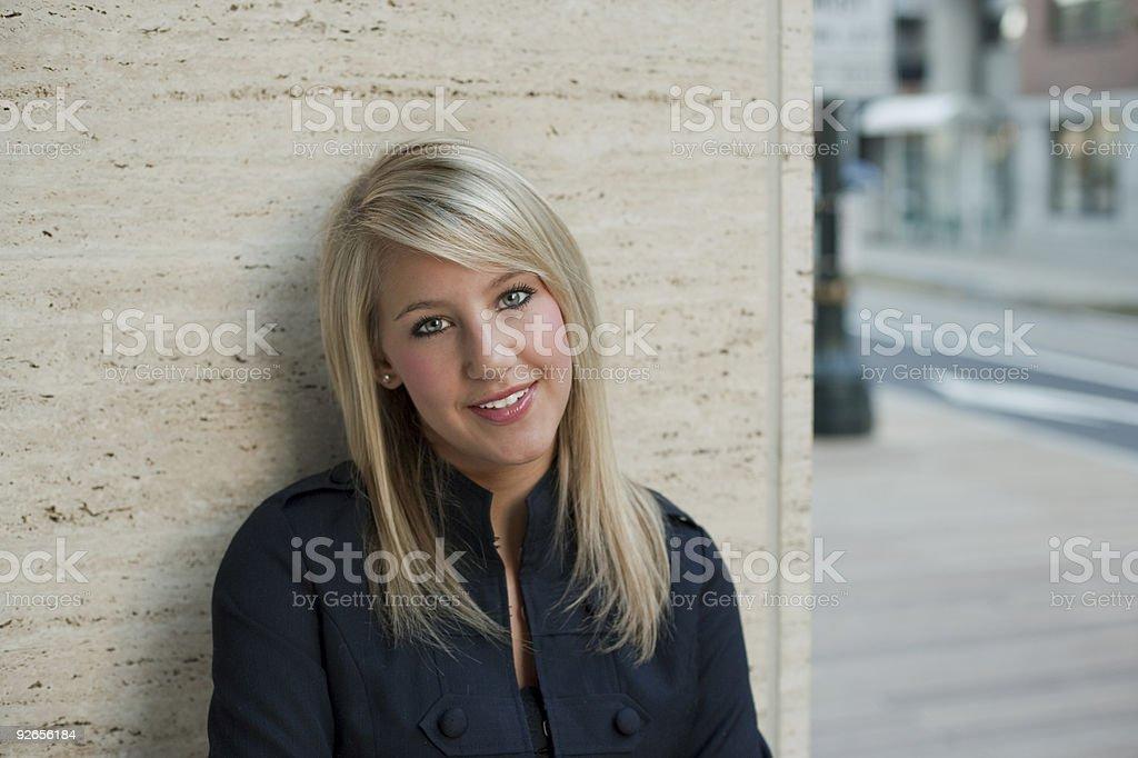 Young Teenage Girl royalty-free stock photo