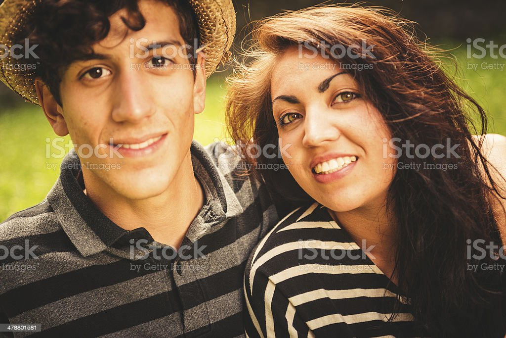 Young Teenagers Couple Having Fun Togetherness Stock Photo Download Image Now Istock