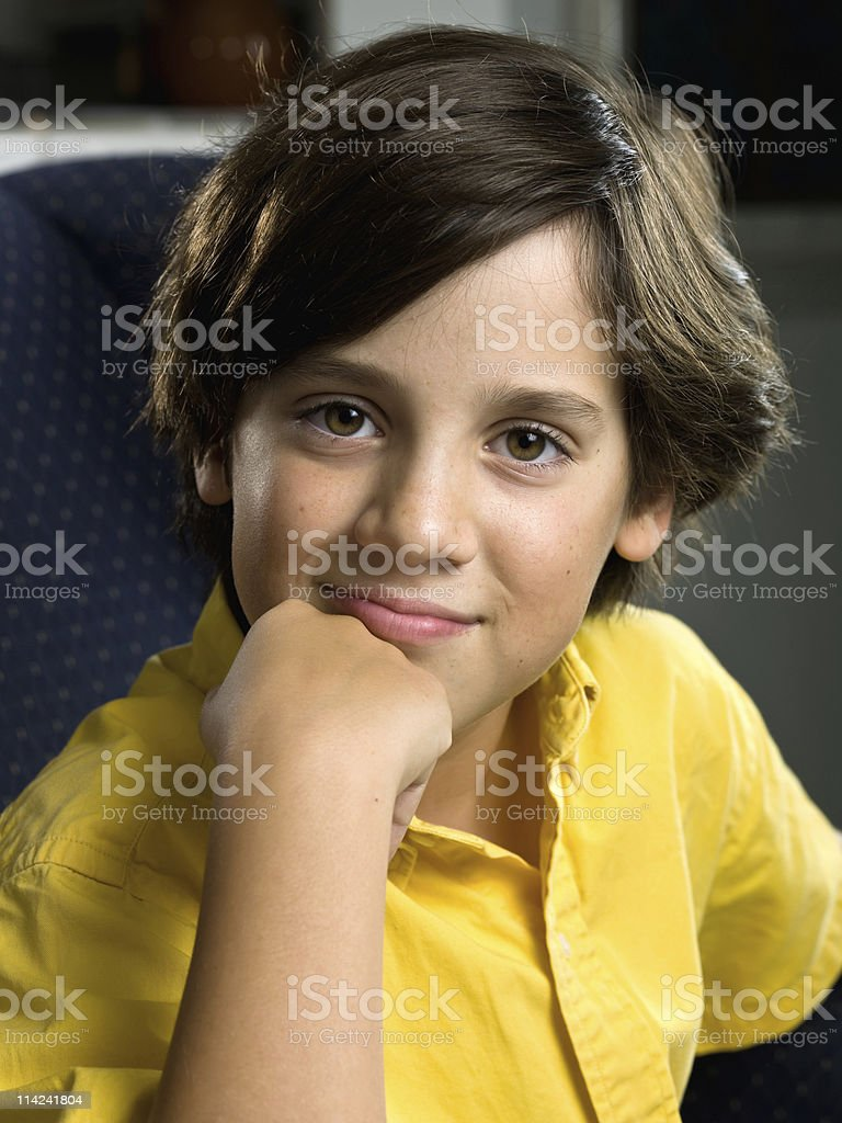 Young thinker royalty-free stock photo