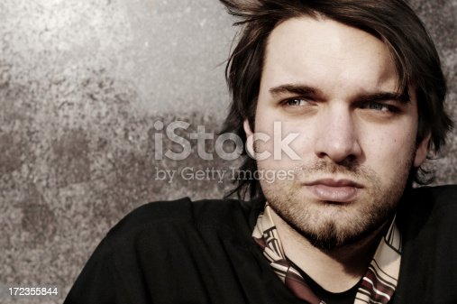 Young Tired Man Stock Photo & More Pictures of Adult