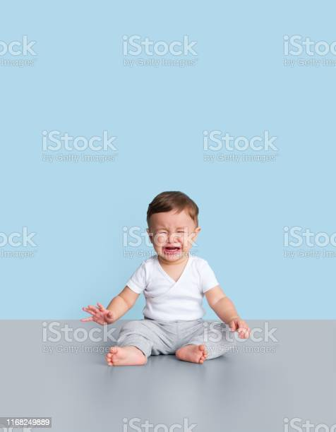 Young Toddler Crying Stock Photo - Download Image Now