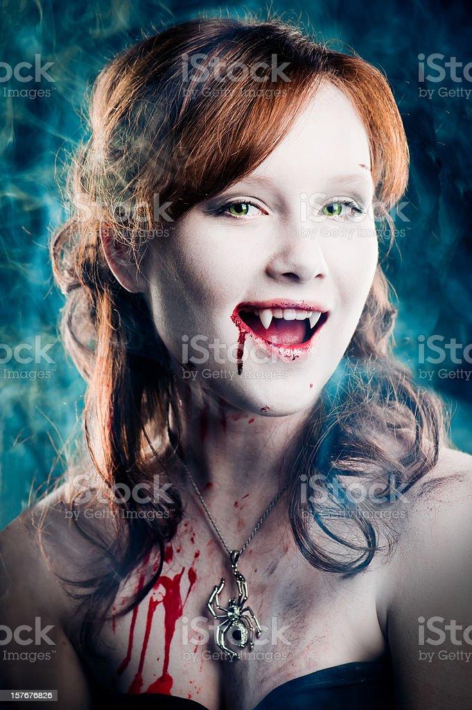 Young vampire royalty-free stock photo