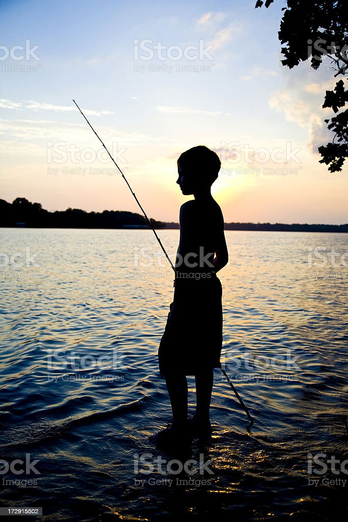 Young Warrior royalty-free stock photo