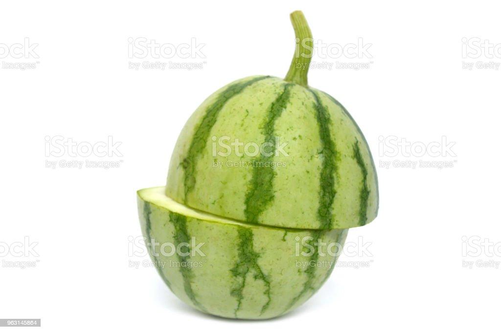 Unga vattenmelon frukt - Royaltyfri Asien Bildbanksbilder
