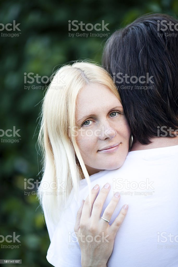 Young Wife royalty-free stock photo