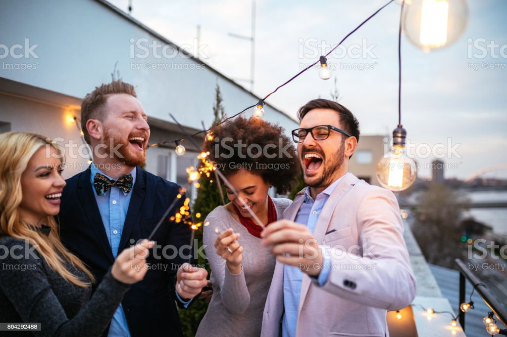 Young, wild and free stock photo