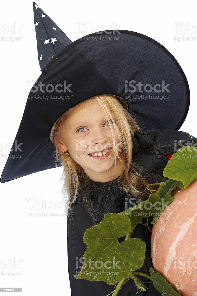Junge Hexe Lizenzfreies stock-foto