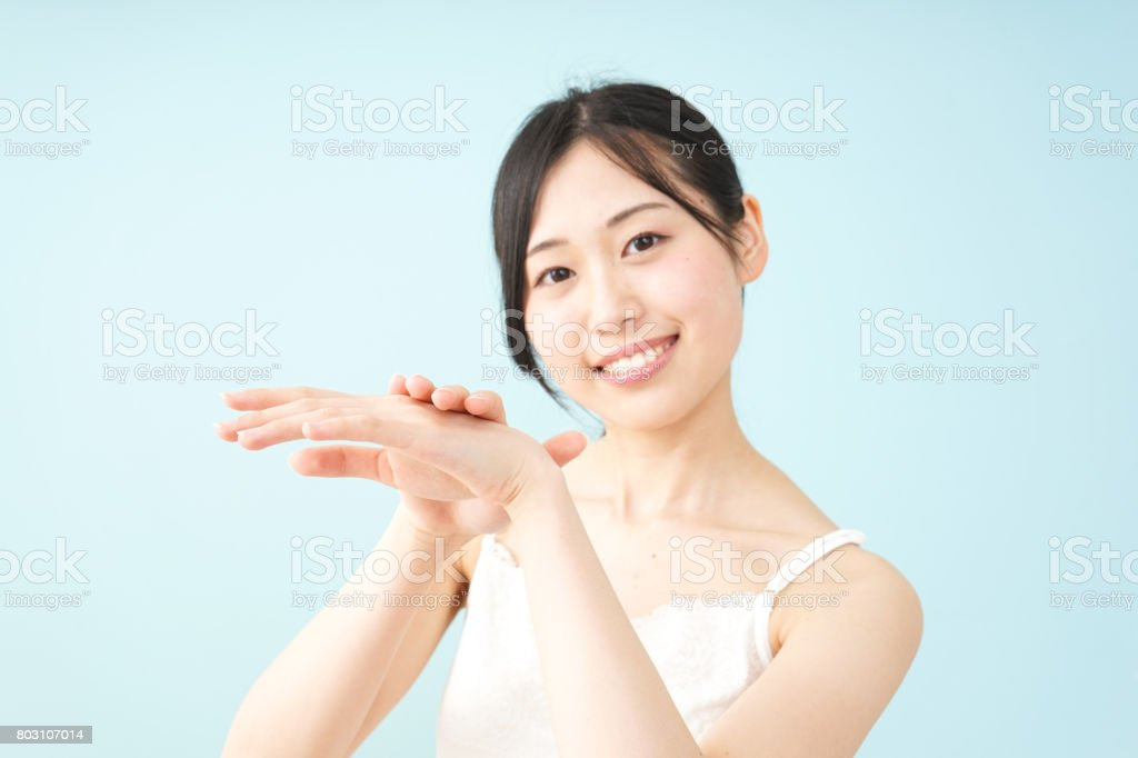 Young woman beauty image stock photo