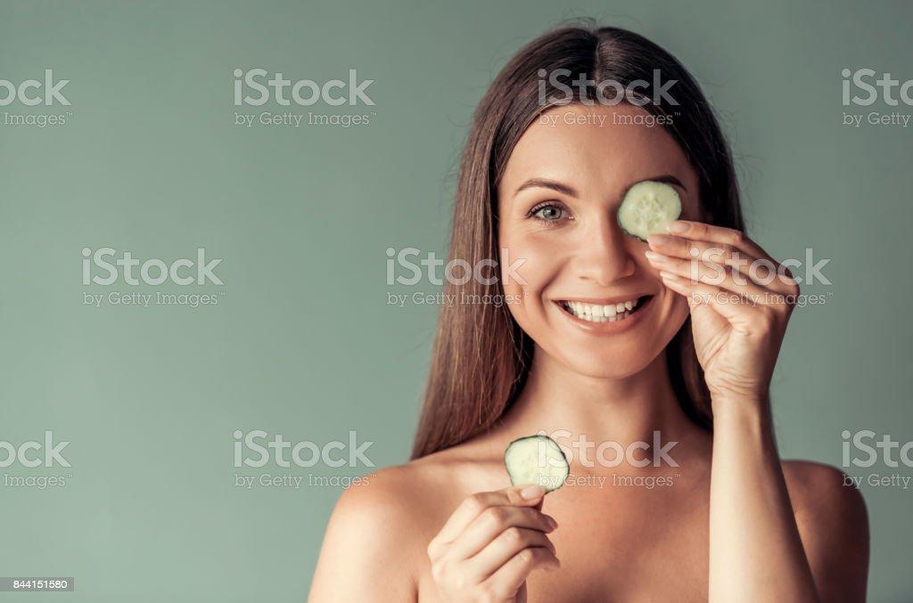 Junge Frau, Schönheit – Foto