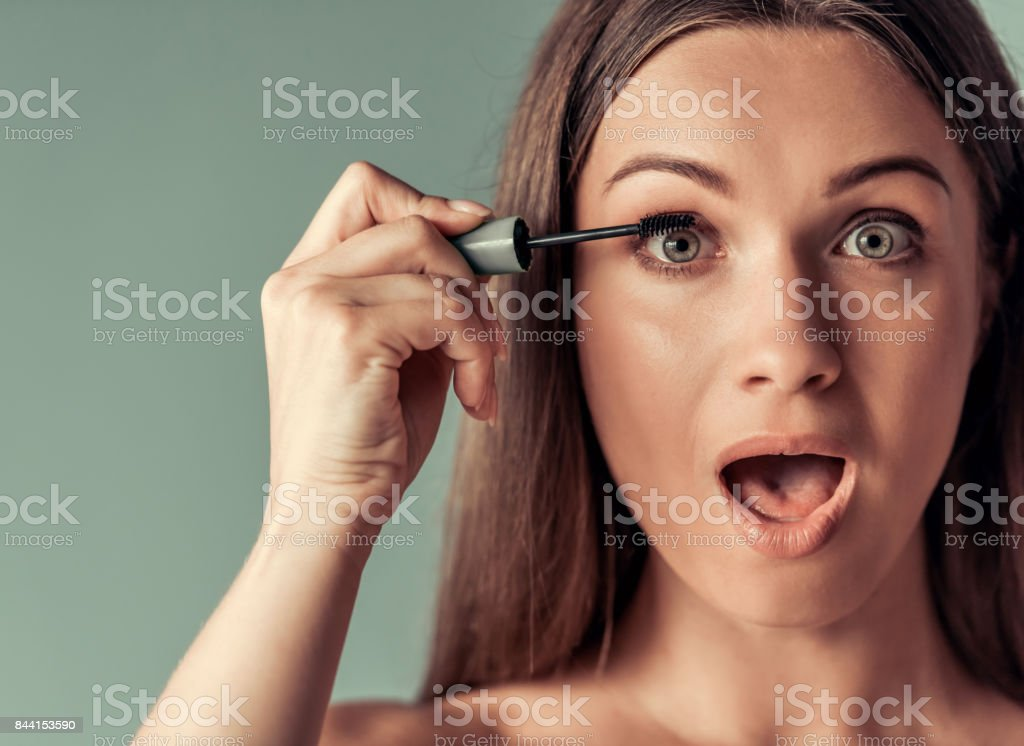 Young woman, beauty stock photo