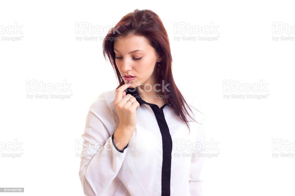 Young woman businesswoman photo libre de droits